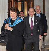 Washington, DC - December 24, 2009 -- United States Senators Dianne Feinstein (Democrat of Pennsylvania), left, Arlen Specter (Democrat of Pennsylvania), center, and John Cornyn (Republican of Texas), right, arrive to vote on H.R. 3590, regarding health care reform in the U.S. Capitol on Thursday, December 24, 2009.  In a party-line vote, the bill passed 60 - 39..Credit: Ron Sachs / CNP.(RESTRICTION: NO New York or New Jersey Newspapers or newspapers within a 75 mile radius of New York City)