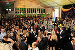 A view inside the big tent at the Social Book 2010 launch party at Discovery Green Park Thursday Jan. 21,2010.(Dave Rossman/For the Chronicle)