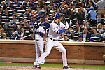 Noah Syndergaard (Mets),<br /> OCTOBER 5, 2016 - MLB :<br /> Noah Syndergaard of the New York Mets at bat in the third inning during the National League Wild Card Game against the San Francisco Giants at Citi Field in Flushing, New York, United States. (Photo by Hiroaki Yamaguchi/AFLO)