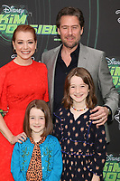 """LOS ANGELES - FEB 12:  Alyson Hannigan, Keeva Jane Denisof, Satyana Marie Denisof, Alexis Denisof at the """"Kim Possible"""" Premiere Screening at the TV Academy on February 12, 2019 in Los Angeles, CA"""