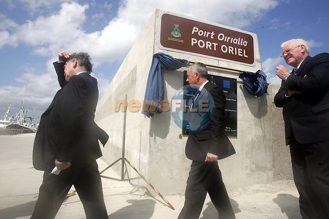 Opening of the new pier in Clogherhead, Co.Louth...Photo NEWSFILE/Jenny Matthews.(Photo credit should read Jenny Matthews/NEWSFILE)....This Picture has been sent you under the condtions enclosed by:.Newsfile Ltd..The Studio,.Millmount Abbey,.Drogheda,.Co Meath..Ireland..Tel: +353(0)41-9871240.Fax: +353(0)41-9871260.GSM: +353(0)86-2500958.email: pictures@newsfile.ie.www.newsfile.ie.FTP: 193.120.102.198.