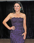Julia Louis-Dreyfus arrives for the 2013 White House Correspondents Association Annual Dinner at the Washington Hilton Hotel on Saturday, April 27, 2013..Credit: Ron Sachs / CNP.(RESTRICTION: NO New York or New Jersey Newspapers or newspapers within a 75 mile radius of New York City)