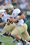 Wofford Terriers quarterback Michael Weimer (15) in action during the game between the Wofford Terriers and the Baylor Bears at the Floyd Casey Stadium in Waco, Texas. Baylor leads Woffard 38 to 0 at halftime.