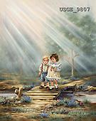 Dona Gelsinger, CHILDREN, paintings(USGE9807,#K#) Kinder, niños, illustrations, pinturas ,everyday