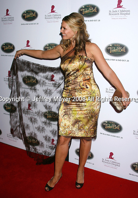 BEVERLY HILLS, CA. - October 11: Actress Natasha Henstridge  arrives at St. Jude's 5th Annual Runway For Life Benefit at the Beverly Hilton Hotel on October 11, 2008 in Beverly Hills, California.