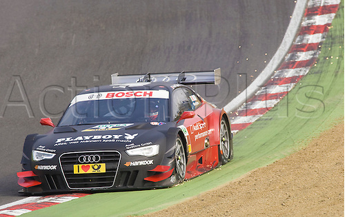 19.05.2012 Brands Hatch, Edoardo Montara driving the Playboy Audi A5 in action during Saturday's Qualifying in the 2012 DTM Championship, Kent, England