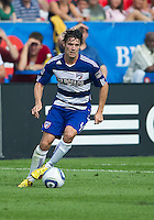 July 24, 2010 FC Dallas defender Heath Pearce #4 in action during a game between FC Dallas and Toronto FC at BMO Field in Toronto..Final score was 1-1.