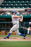 St. Lucie Mets first baseman Peter Alonso (20) at bat during the second game of a doubleheader against the Lakeland Flying Tigers on June 10, 2017 at Joker Marchant Stadium in Lakeland, Florida.  Lakeland defeated St. Lucie 9-1.  (Mike Janes/Four Seam Images)