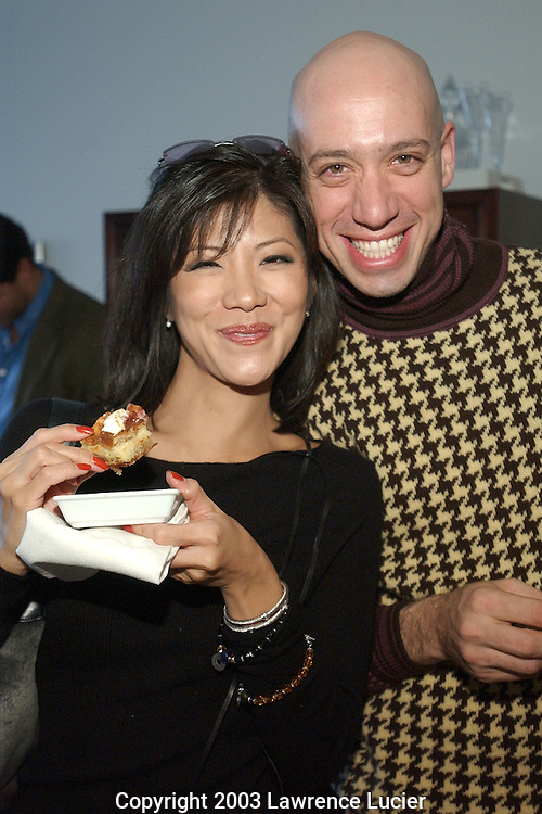 Julie Chen and Robert Verde