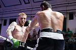 Ollie Pattison vs Tayar Mehmed 6x3 - Light Heavyweight Contest During Goodwin Boxing - Date With Destiny. Photo by: Simon Downing.<br /> <br /> Saturday September 23rd 2017 - York Hall, Bethnal Green, London, United Kingdom.