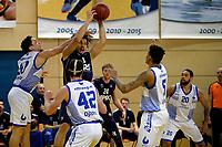 ZWOLLE - Basketbal, Landstede - Donar, Halve finale beker, seizoen 2017-2018, 18-02-2018, rebound van Donar speler Sean Cunningham