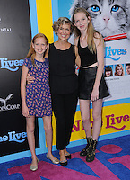 """01 August 2016 - Hollywood, California. Piper Quincey Jackson, Melora Hardin, Rory Jackson. World premiere of """"Nine Lives"""" held at the TCL Chinese Theatre. Photo Credit: Birdie Thompson/AdMedia"""