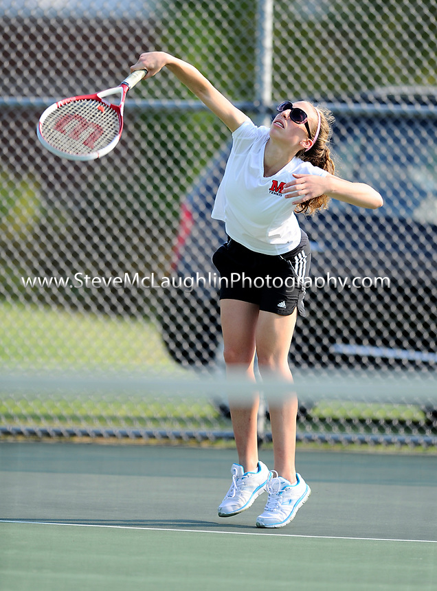 Mittchell tennis at St. Joes of West Hartford Tuesday, September 13, 2011