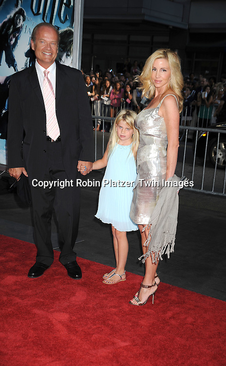 Kelsey Grammer, daughter Mason and wife Camille