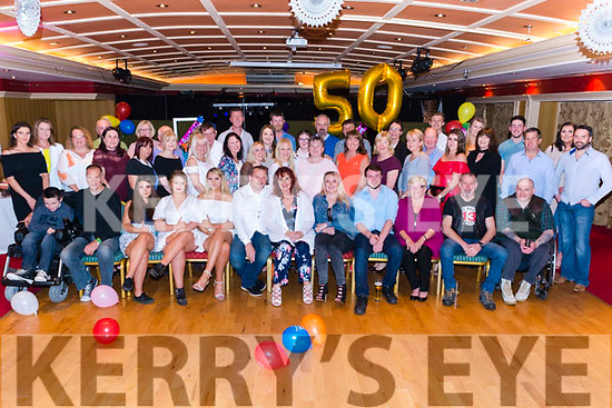 Eilish Quinlivan from Tralee celebrated her 50th birthday surrounded by friends and family in the Avenue Hotel, Killarney last Saturday night.