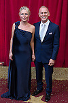 © Licensed to London News Pictures . 16/05/2015 .  The Palace Hotel , Manchester , UK . Judge Rinder ( Robert Rinder ) (r) . The red carpet at the 2015 British Soap Awards , The Palace Hotel , Oxford Road , Manchester . Photo credit : Joel Goodman/LNP