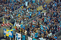 Philadelphia Union supporters section, MLS soccer.