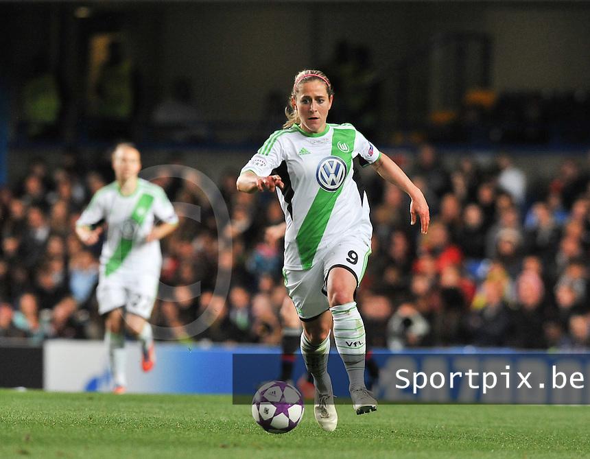Wolfsburg - Olympique Lyonnais : Anna Bl&auml;sse<br /> foto David Catry / Nikonpro.be