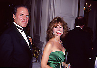 Washington DC., USA, July 2, 1991<br /> Frank and Kathy Lee Gifford arrival at the White House for the State Dinner in Honor of the South Korean President Roh Tae Woo. Credit: Mark Reinstein/MediaPunch