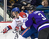 Josh Holmstrom (Lowell - 12), Cameron Cooper (Mankato - 3) - The visiting Minnesota State University-Mankato Mavericks defeated the University of Massachusetts-Lowell River Hawks 3-2 on Saturday, November 27, 2010, at Tsongas Arena in Lowell, Massachusetts.