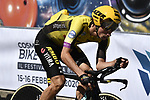 Primoz Roglic (SLO) Team Jumbo-Visma recons the course before Stage 21 the final stage of the 2019 Giro d'Italia, an individual time trial running 17km from Verona to Verona, Italy. 2nd June 2019<br /> Picture: Fabio Ferrari/LaPresse | Cyclefile<br /> <br /> All photos usage must carry mandatory copyright credit (© Cyclefile | Fabio Ferrari/LaPresse)