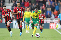 Onel Hernández of Norwich City runs with the ball when under pressure during the Premier League match between Bournemouth and Norwich City at Goldsands Stadium on October 19th 2019 in Bournemouth, England. (Photo by Mick Kearns/phcimages.com)<br /> Foto PHC/Insidefoto <br /> ITALY ONLY