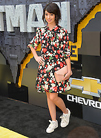 Kate Micucci at the world premiere of &quot;The Lego Batman Movie&quot; at the Regency Village Theatre, Westwood, Los Angeles, USA 4th February  2017<br /> Picture: Paul Smith/Featureflash/SilverHub 0208 004 5359 sales@silverhubmedia.com