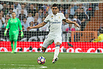 Carlos Henrique Casemiro of Real Madrid during the match of La Liga between Real Madrid and Futbol Club Barcelona at Santiago Bernabeu Stadium  in Madrid, Spain. April 23, 2017. (ALTERPHOTOS)