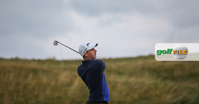 Matthew Nixon (ENG) had a rough start to the Final Round of the D&D Real Czech Masters 2014 from the Albatross Golf Resort, Vysoky Ujezd, Prague. Picture:  David Lloyd / www.golffile.ie