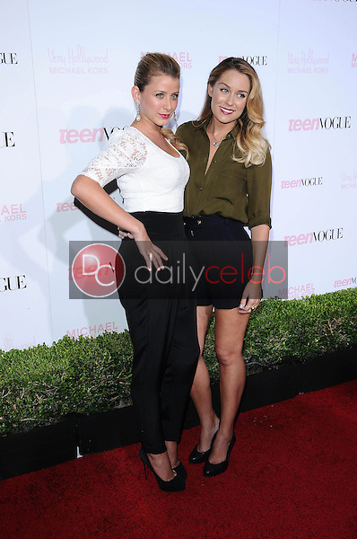 Lo Bosworth and Lauren Conrad<br />