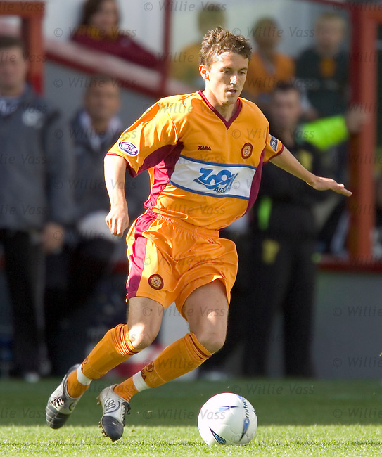 Kevin McBride, Motherwell.stock season 2004-2005.pic willie vass