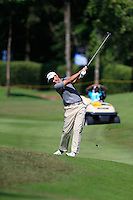 Richard Bland (ENG) on the 5th fairway green during Round 3 of the Maybank Malaysian Open at the Kuala Lumpur Golf & Country Club on Saturday 7th February 2015.<br /> Picture:  Thos Caffrey / www.golffile.ie