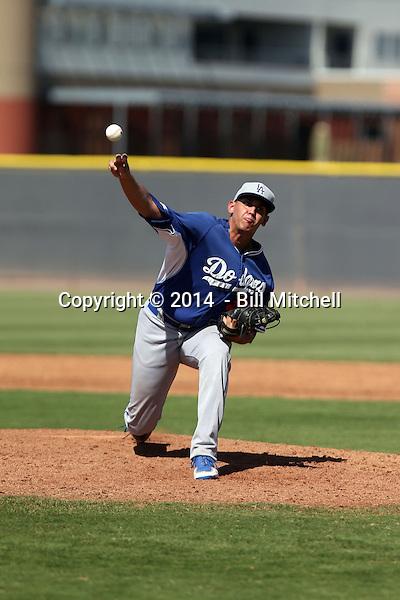 Jose De Leon - 2014 AIL Dodgers (Bill Mitchell)
