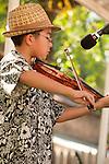 Old Time Fiddler's jam, Fiddletown, Calif...Jasper Gebhardt