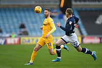 Preston's Paul Gallagher <br /> <br /> Photographer Jon Hobley/CameraSport<br /> <br /> The EFL Sky Bet Championship - Millwall v Preston North End - Saturday 13th January 2018 - The Den - London<br /> <br /> World Copyright &copy; 2018 CameraSport. All rights reserved. 43 Linden Ave. Countesthorpe. Leicester. England. LE8 5PG - Tel: +44 (0) 116 277 4147 - admin@camerasport.com - www.camerasport.com