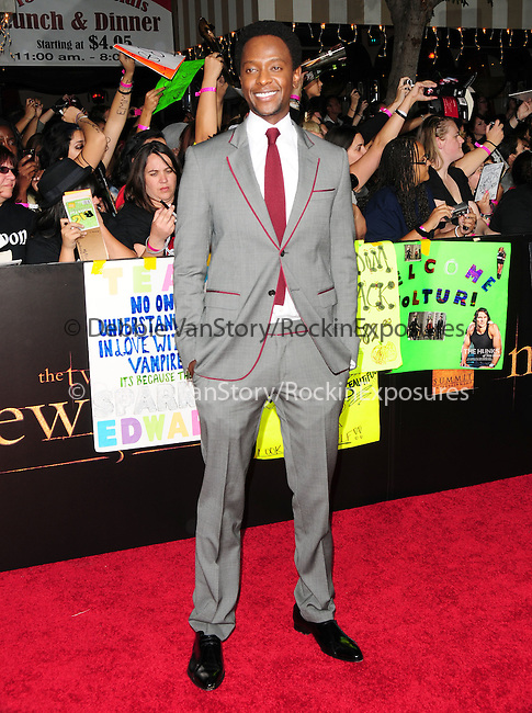 Edi Gathegi. at The Summit Entertainment's World Premiere of THE TWILIGHT SAGA: NEW MOON held at The Mann's Village Theatre in Westwood, California on November 16,2009                                                                   Copyright 2009 DVS / RockinExposures