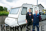 Homeless Frank (left) told to Move Caravan, by Council, bought by friend Palo