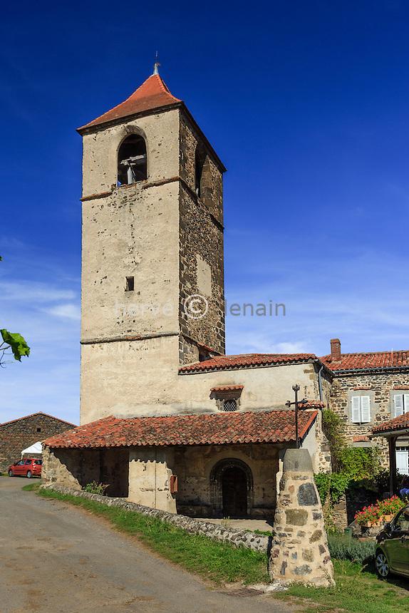 France, Haute-Loire (43), Blassac, l'église Notre-Dame de l'Assomption // France, Haute Loire, Blassac, Notre Dame of the Assumption church