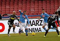 NAPOLI 01/02/2012 - CAMPIONATO SERIE A 2011/2012 NAPOLI - CESENA -.NELLA FOTO        GORAN PANDEV.FOTO CIRO DE LUCA