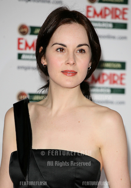 Michelle Dockery arriving for the Jameson Empire Awards 2011, Grosvenor House Hotel, London. 27/03/2011  Picture by: Alexandra Glen / Featureflash