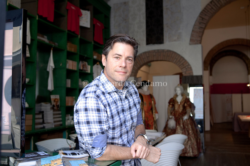 """J. R."" Moehringer, Jr. (born December 7, 1964), an American author and Pulitzer Prize-winning journalist. Moehringer was born in New York City .. Mantova, settembre 2013. © Leonardo Cendamo"
