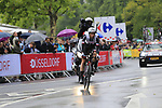 Laurens Ten Dam (NED) Team Sunweb in action during Stage 1, a 14km individual time trial around Dusseldorf, of the 104th edition of the Tour de France 2017, Dusseldorf, Germany. 1st July 2017.<br /> Picture: Eoin Clarke | Cyclefile<br /> <br /> <br /> All photos usage must carry mandatory copyright credit (&copy; Cyclefile | Eoin Clarke)