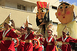 Israel, Purim procession in Herzliya