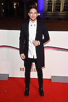 Matt Terry<br /> at the Millies 2016, Guildhall, London.<br /> <br /> <br /> &copy;Ash Knotek  D3212  14/12/2016