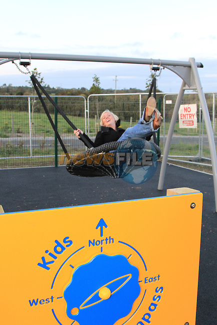 Committee Members at the new playground in Tullyallen..Picture Fran Caffrey www.newsfile.ie