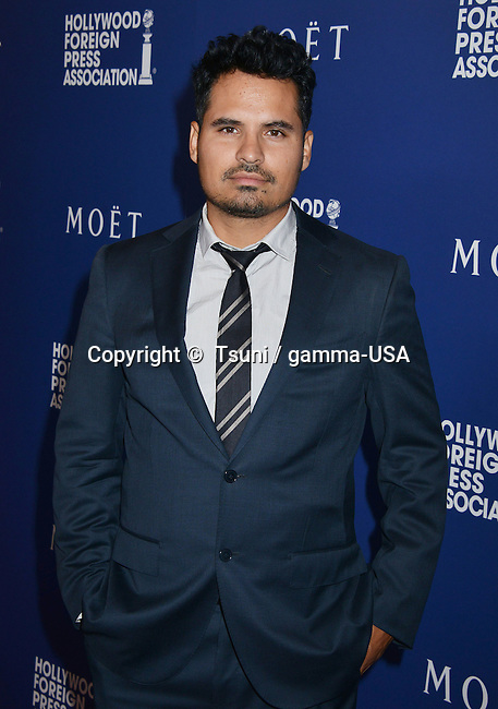Michael Pena  at the HFPA Grants to Non Profits and Scholarship Programs at the Beverly Hilton In Los Angeles.