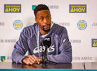 Rotterdam, The Netherlands, 16 Februari 2020, ABNAMRO World Tennis Tournament, Ahoy, Pressconference Gael Monfils (FEA)<br /> <br /> Photo: www.tennisimages.com