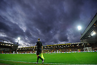 A general view of Carrow Road during the Barclays Premier League match between Norwich City and Swansea City played at Carrow Road, Norwich on November 7th 2015