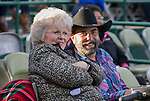 A photograph taken during the Reno Rodeo Nevada Pink Night on Friday, June 28, 2019.