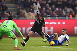 Julian Chabot of Sampdoria makes a last ditch tackle on Suso of AC Milan as he bares down on goal during the Serie A match at Giuseppe Meazza, Milan. Picture date: 6th January 2020. Picture credit should read: Jonathan Moscrop/Sportimage